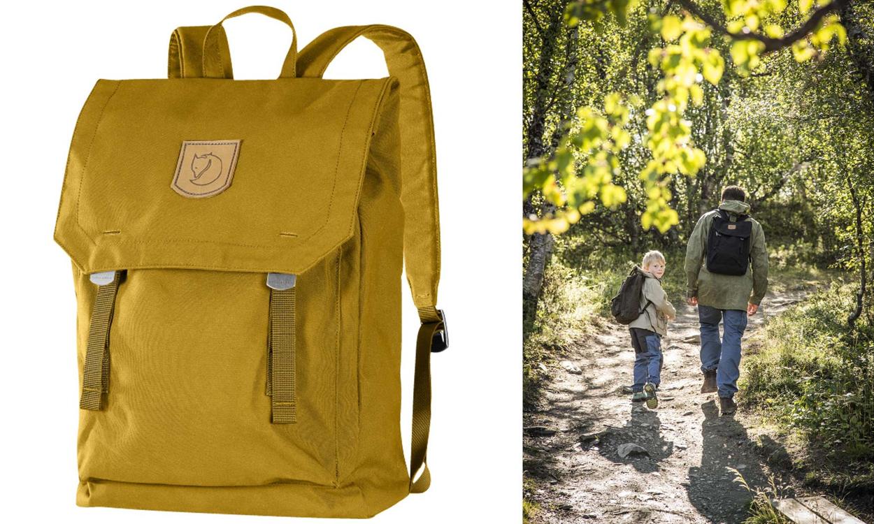 fjällräven rucksack foldsack