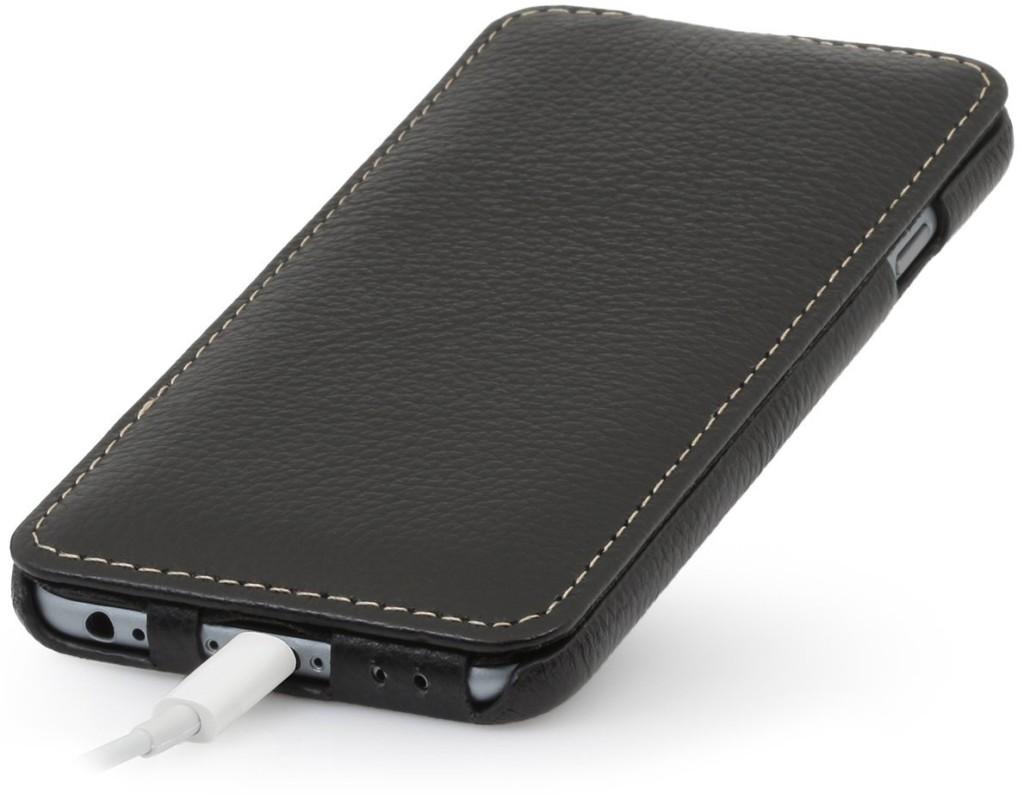 stilgut ultraslim case h lle aus leder f r apple iphone 6 schwarz 2 bag rucksack blog. Black Bedroom Furniture Sets. Home Design Ideas