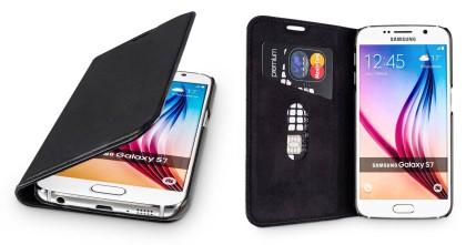 wiiuka Echt Ledertasche Samsung Galaxy S7