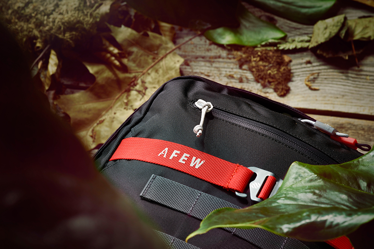 Afew x Heimplanet Future Koi Camo Backpack Rucksack AFEW-Label