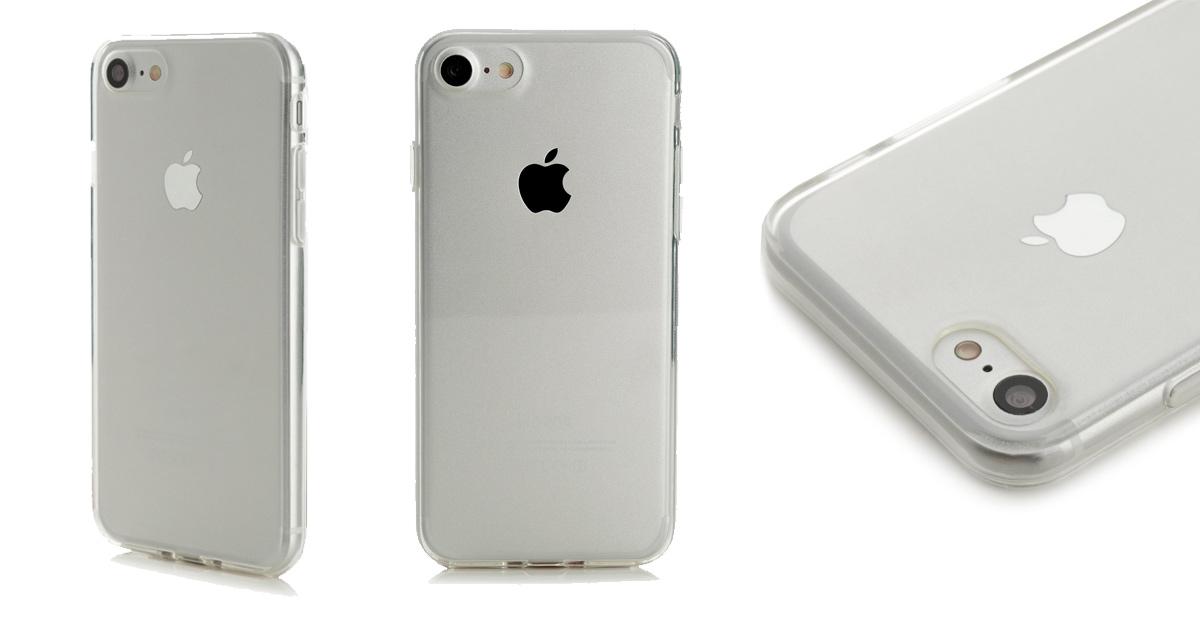 ArktisPRO iPhone 7 Hülle Silikon Schutzhülle Handyhülle Case Klar Transparent Durchsichtig