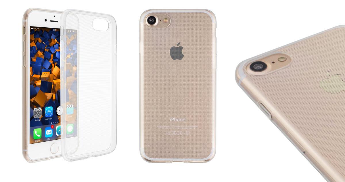 mumbi UltraSlim Hülle für iPhone 7 Schutzhülle transparent